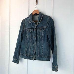 J. Crew Classic Denim Jean Jacket Medium Wash XS